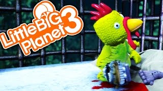 THE CHICKEN MAN! | Little Big Planet 3 Multiplayer (82)