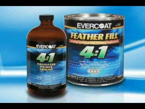Evercoat Feather Fill 4 to 1 Hybrid Polyester Primer Surfacer