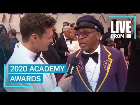 See Spike Lee's Kobe Bryant-Inspired Oscars Tux | E! Red Carpet & Award Shows