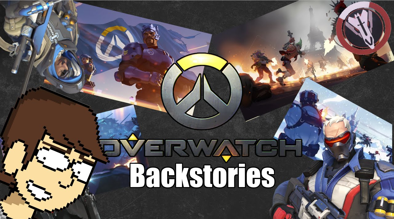 overwatch all characters lores backstories youtube