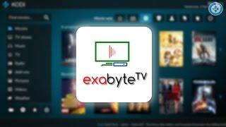 Como Instalar Addon Exabyte TV 2.0 en Kodi 17 Krypton