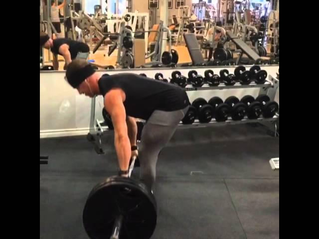 315 lbs stiff legged deadlifts!