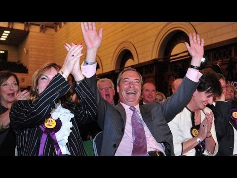 European Elections: UKIP Triump In Historic European Election Win | UKIP Top British Polls!!!