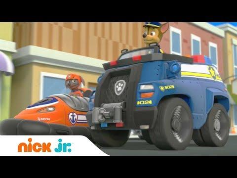 Щенячий патруль | Время гонок | Nick Jr. Россия