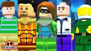 LEGO INCREDIBLES - 12 SPIDER-MAN Characters Showcase!