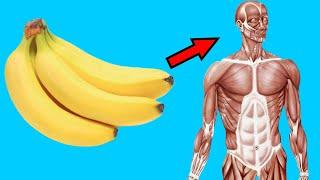 Porque si comes 2 plátanos todos los días le pasa esto a tu cuerpo,   beneficios y riesgos