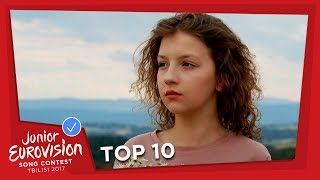 TOP 10! MOST WATCHED JUNIOR EUROVISION SONGS IN OCTOBER 2017 🎶🎉