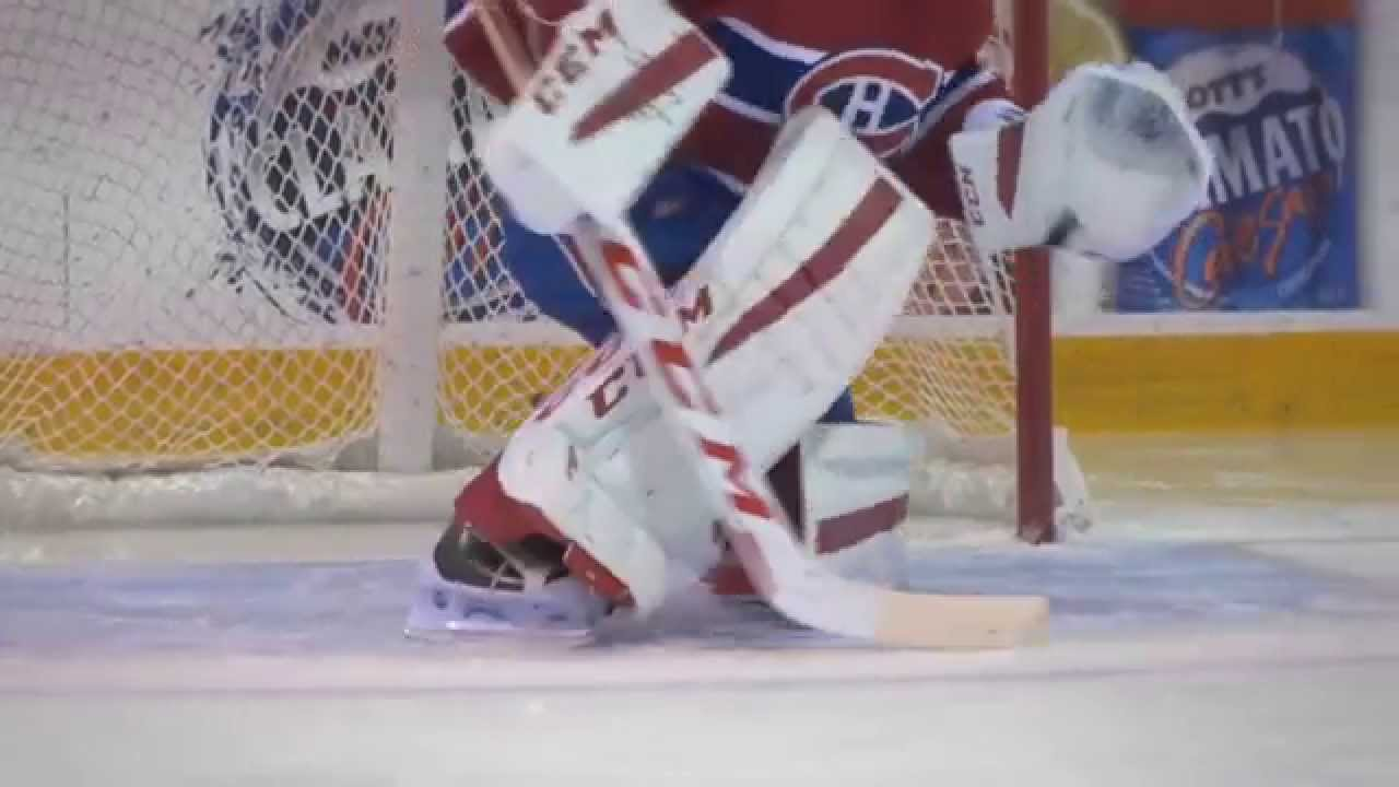 e966cb93228 Carey Price  CCM Extreme Flex 2 Goalie Pads - YouTube