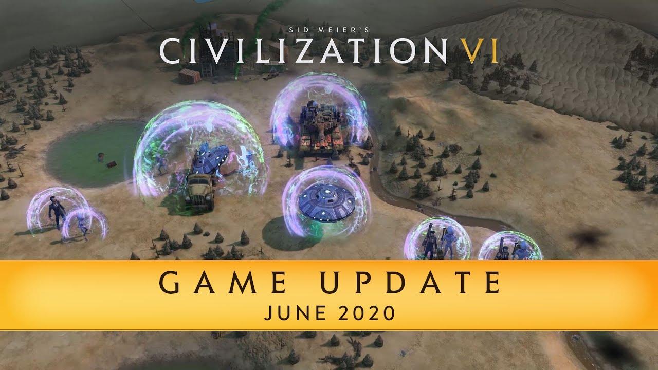 Civilization VI Game Update – June 2020