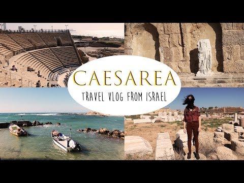 Caesarea National Park: travel vlog from Israel