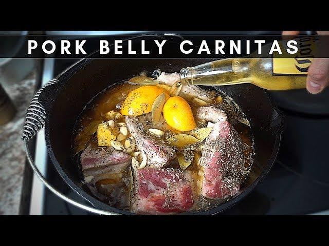 Carnitas de Pork Belly | La Capital