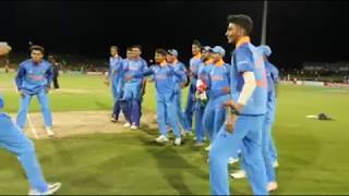 U-19 Riyan parag and Prithvi shaw dancing 🔥 🔥 🔥 🔥