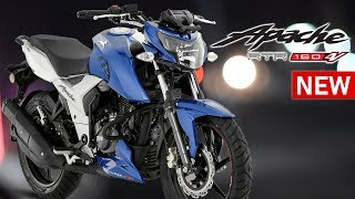 Gambar cover TVS Apache RTR 160 4V 2018 Bike Review in Bangla   Mileage   Top Speed   Price   Specifications
