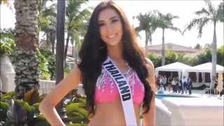 Presentation of the Miss Universe 2014 Candidates in Swimsuit at Trump National Doral
