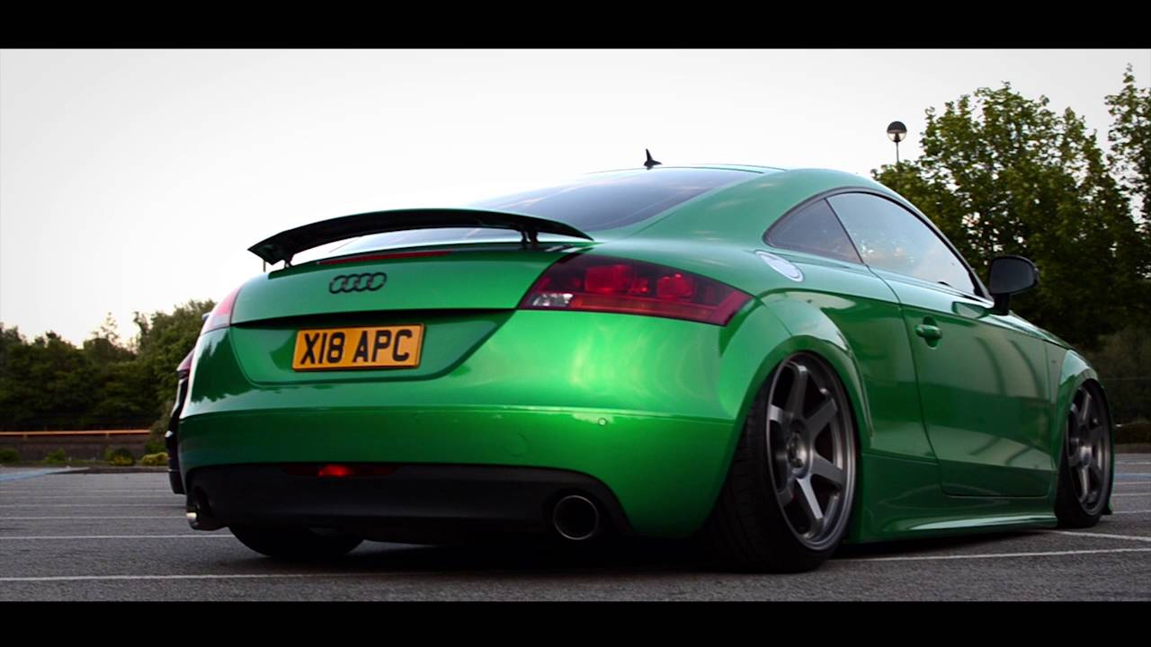 Audi Tt Wrap 3m Gloss Green Envy Youtube