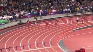 Mens 400m Hurdles Final 2012 Olympics   Athletics   London Felix Sanchez 47 63  1