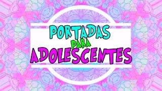 Ideas Para Marcar Cuadernos para adolescentes / regreso a clases 2018 /  Lorena G ♥