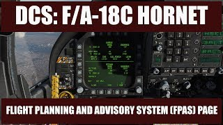 DCS: F/A-18C Hornet – Episode 17 Flight Performance Advisory System (FPAS)