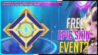 Free Epic Skin Rivals Event! | Mobile Legends - New Events! | MLBB
