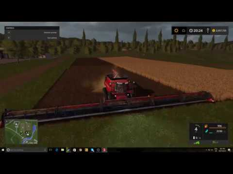 Fs17 Harvester Mod 90ft Header Link In Desc Youtube