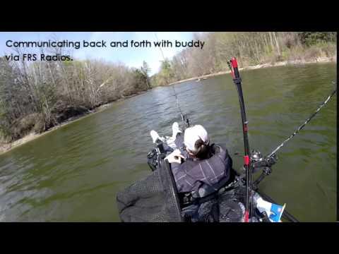 Kelso Lake - Milton, ON Kayak Fishing Ascend FS10