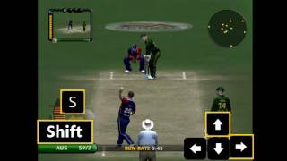 How to play reverse sweep shot in EA Sports Cricket 2007 ?