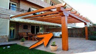 Los mejores diseños de  pérgolas de madera