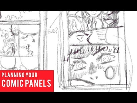 Planning Your Comic Panels Youtube