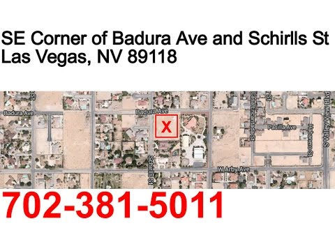 2 acres of residential land for sale in Las Vegas Nevada with utilities