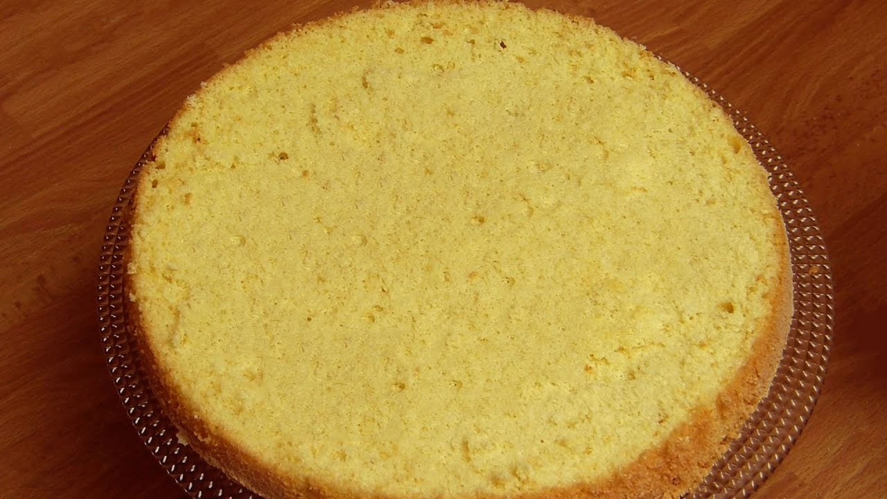Plain Chiffon Cake Recipe