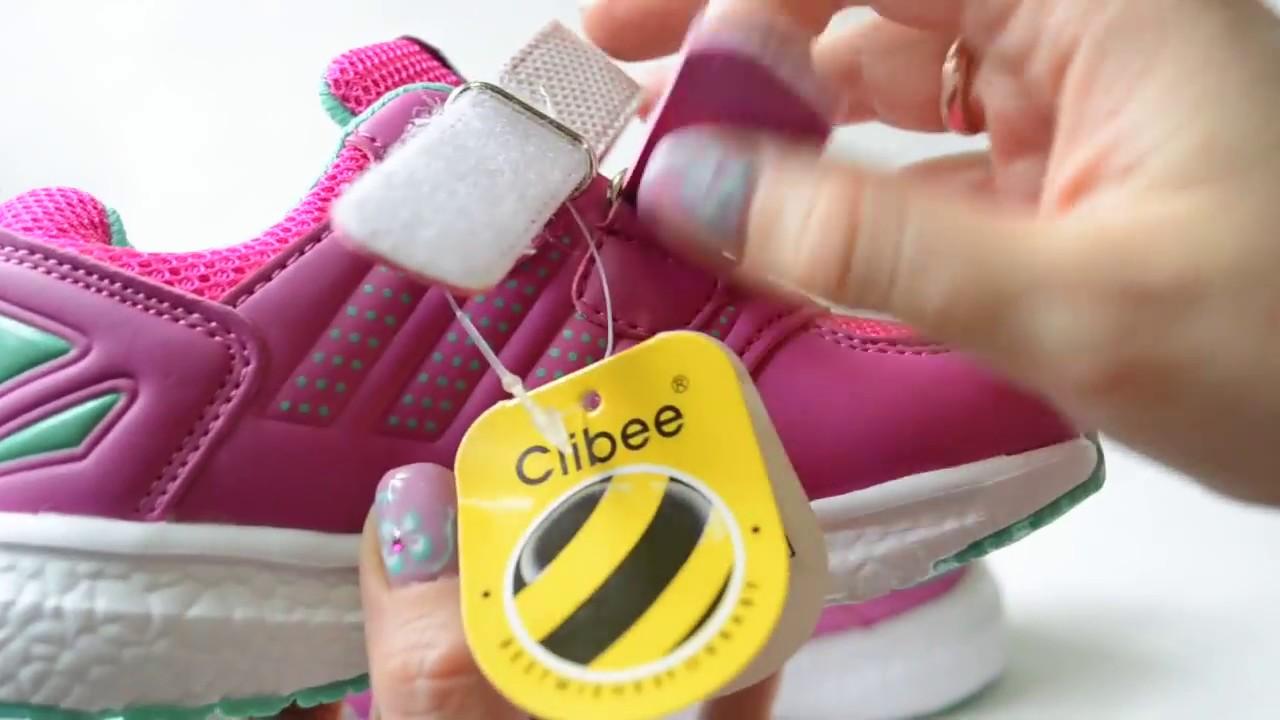 Модные кроссовки для ребенка от 28 до 35 размера clibee.