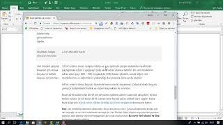 Hücre Adresleri - Excel Dersleri 2018