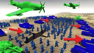 Toy soldiers USE Blitzkrieg strategy ! Army Men Of War