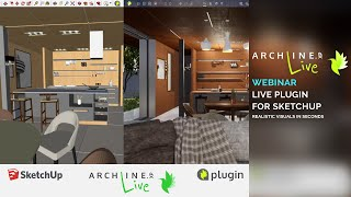 ARCHLine.XP LIVE Plugin for SketchUp – Realistic Visuals in Seconds