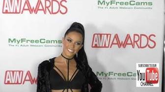 Megan Rain at the 2017 AVN Awards Nomination Party at Avalon Nightclub in Hollywood