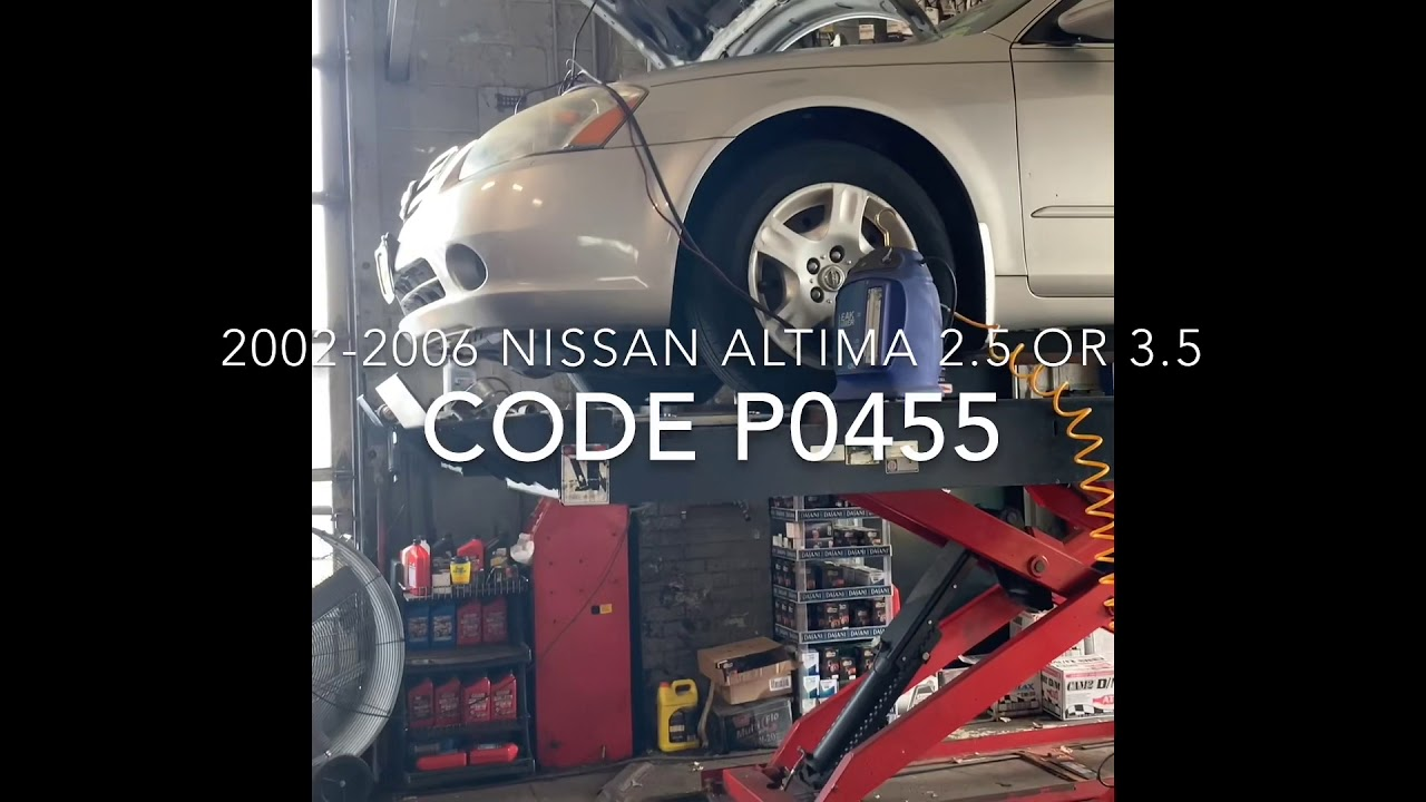 2002-2006 Nissan Altima 2 5 or 3 5 p0455 SOLVED!!! by Waly Tek Performance
