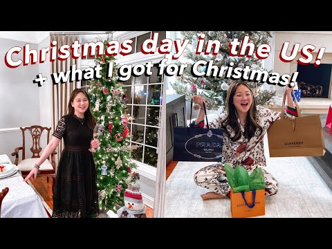 CHRISTMAS IN THE US + FAMILY EXCHANGE GIFT! | ASHLEY SANDRINE