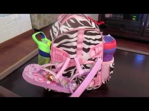 What's in our Toddler Essential Bag? (No more diaper bag?!?)