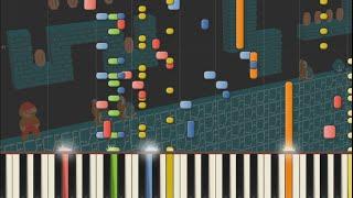 Super Mario Bros. - Underground Theme (Remix) [Arachno SoundFont Game MIDI Music]