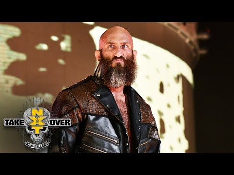 The WWE Universe rains boos upon Tommaso Ciampa: NXT TakeOver: New Orleans (WWE Network Exclusive)