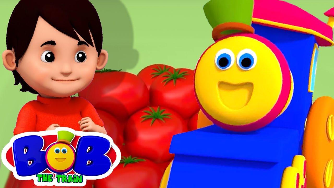 색상 슈퍼마켓   어린이를위한 음악   애니메이션 동영상   Bob The Train Korea   교육 만화   보육 운율