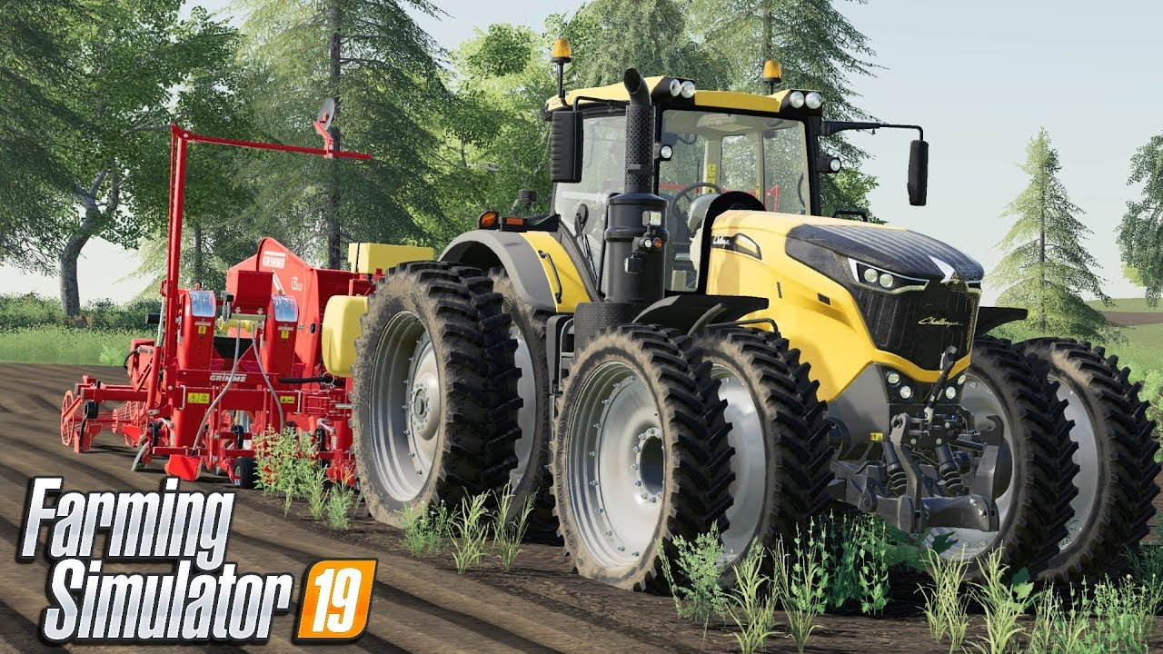 INCREDIBLE STEP BACK IN TIME | Farming Simulator 19 - Giants