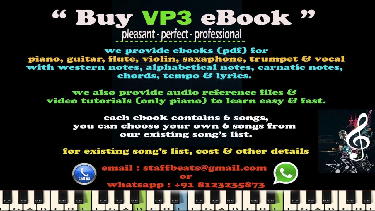 Buy VP3 Music Notes eBook in pdf