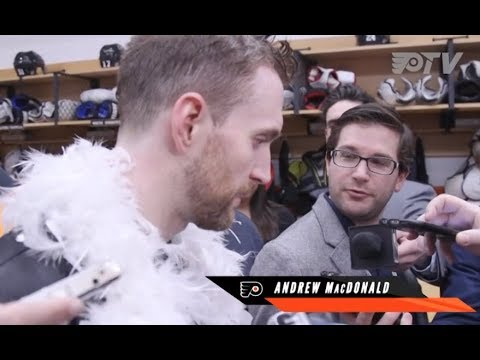 Andrew MacDonald discusses 2-1 win over WPG