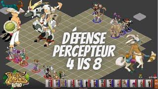 [Dofus Retro Pvp] Défense Percepteur 4 Vs 8