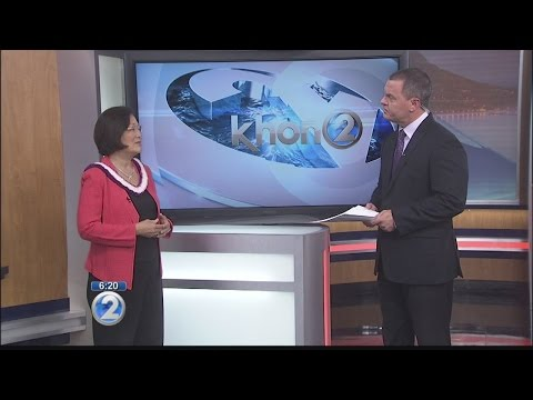 "Mazie Hirono previews ""Hawaii on the Hill"" on Wake Up 2day"