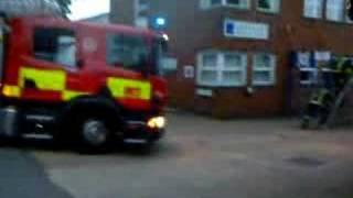 Lygean Explorer Scouts visit Welwyn Garden City Fire Station