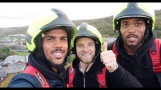 👨🚒 SOMEONE CALL FOR A FIRE ENGINE?  | Huddersfield Town visit Rosenbauer UK