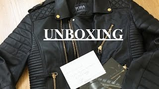 UNBOXING | BODA SKINS LEATHER JACKET  | DANNY YU