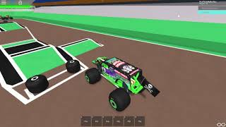 ROBLOX Monster Jam Syracuse Grave Digger WINNING Freestyle